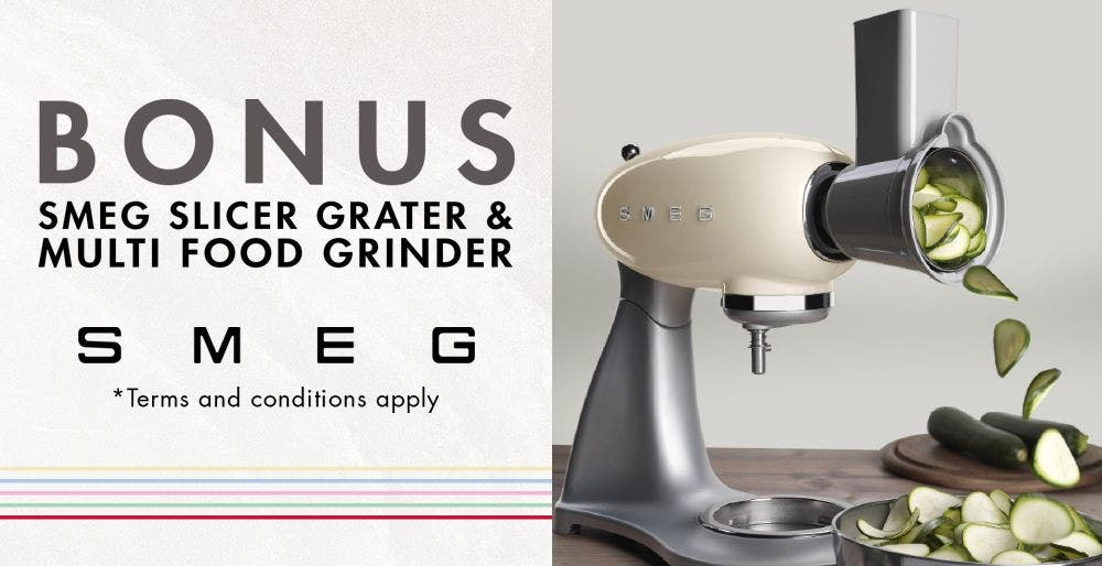 Smeg Mother's Day Stand Mixer Offer