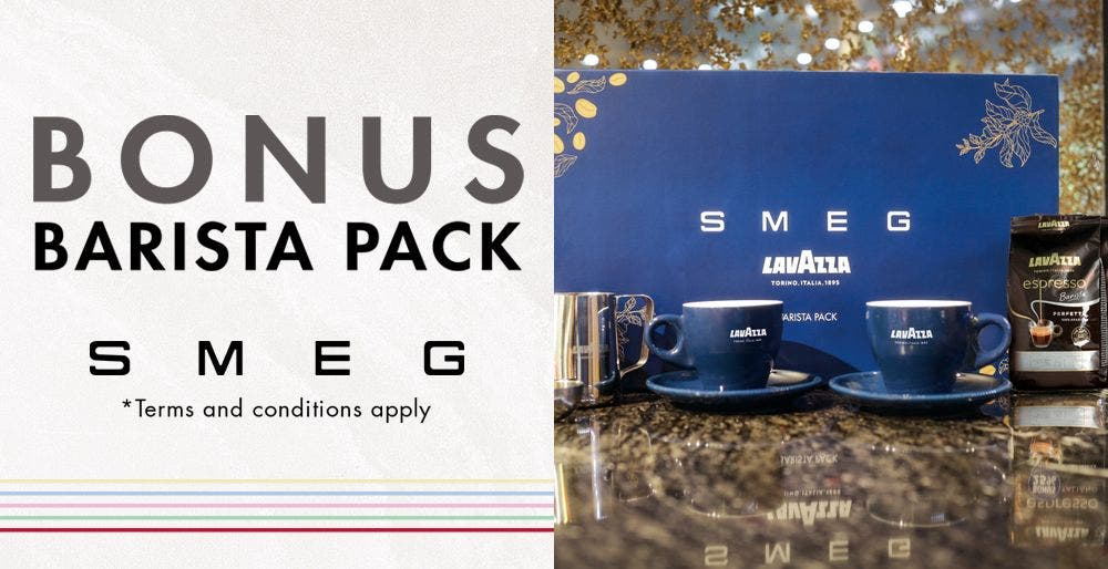 Smeg Mother's Day Espresso Coffee Offer