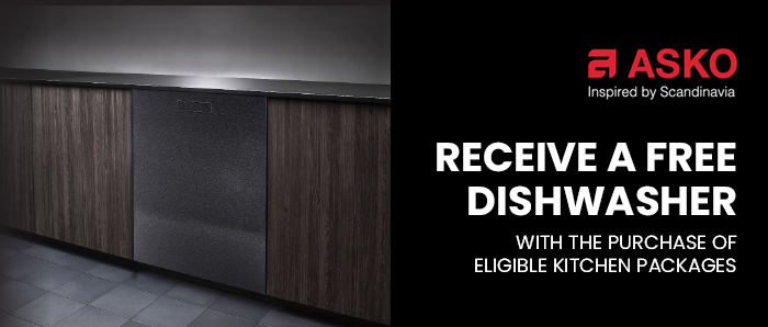 Receive a Free Dishwasher with Asko