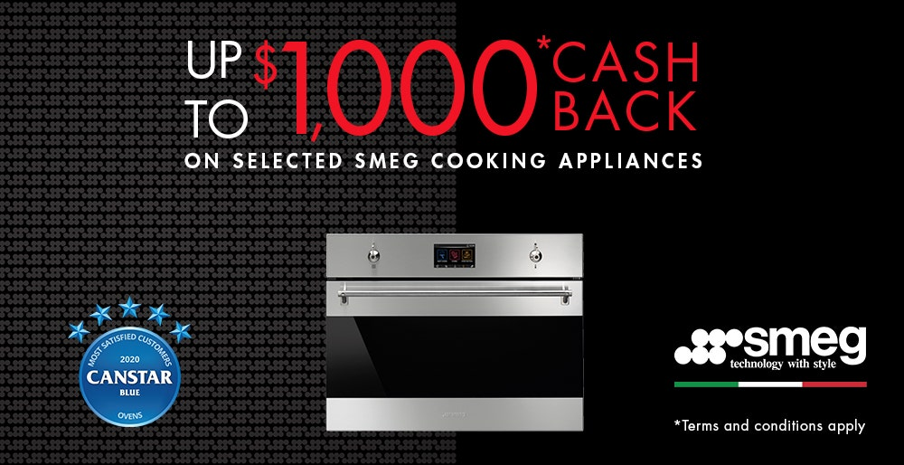 Smeg Cooking Cashback Bonus Cashback Tiers