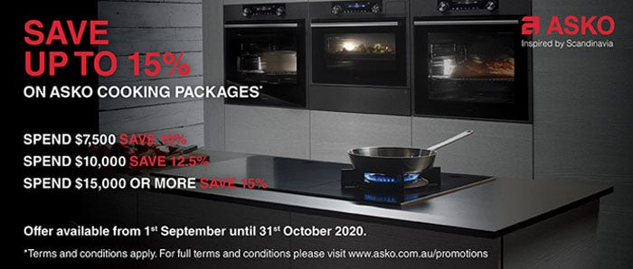 Save on ASKO Cooking Packages
