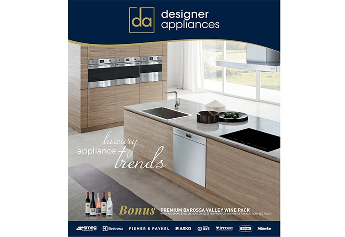 August Designer Appliance Catallogue