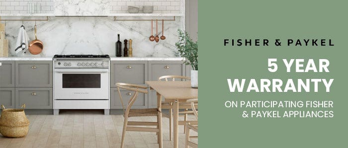 Fisher & Paykel 5 Year Warranty 2020