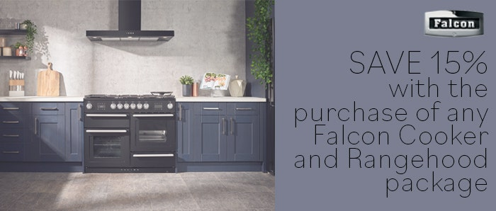 15% Off Falcon Cooker and Rangehoods
