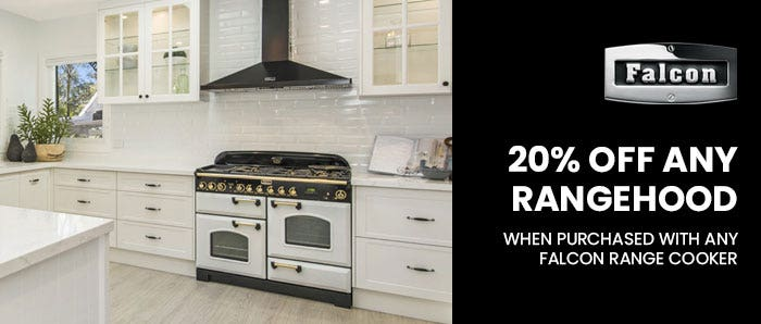 Falcon 20% Off Any Rangehood Promotion