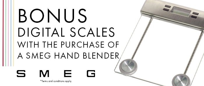 Smeg Hand Blender Bonus Scales Offer