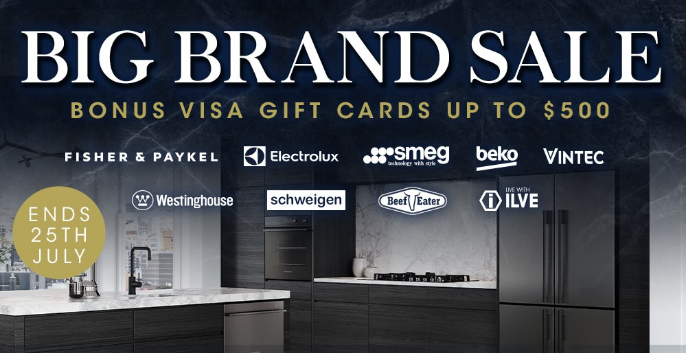 Big Brand Sale Receive a Bonus Visa Gift Card on selected purchases