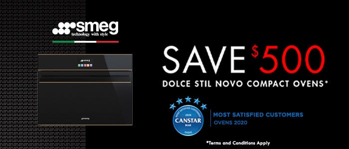 Smeg Save $500 off Dolce Stil Novo