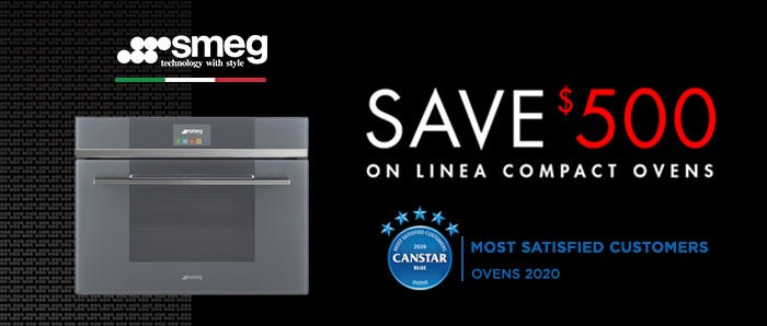 Smeg Save $500 off Linea