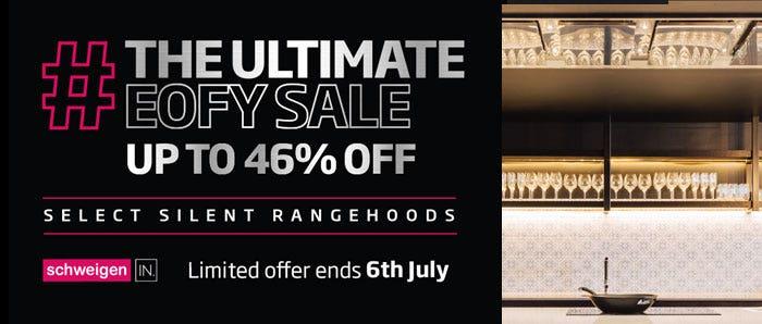 Schweigen IN  Silent Rangehoods Eofy Sale Promotion