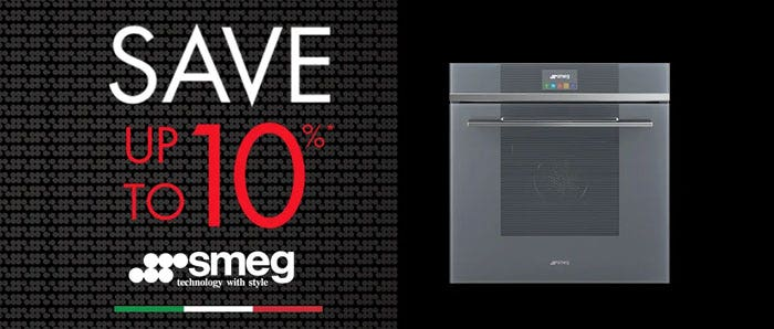 Save up to 10% on select Smeg collections