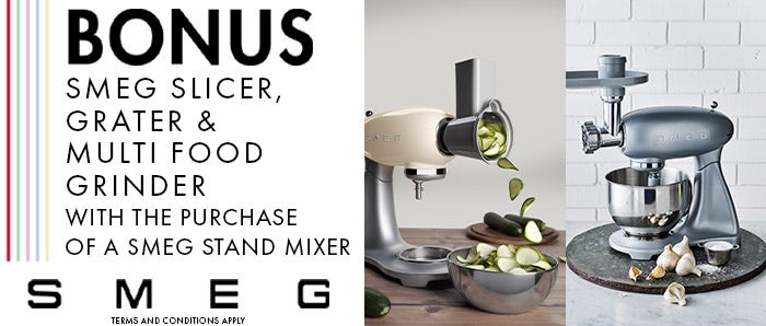 Smeg Stand Mixer Bonus Offer