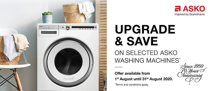 ASKO Washing Machine Upgrade and Save