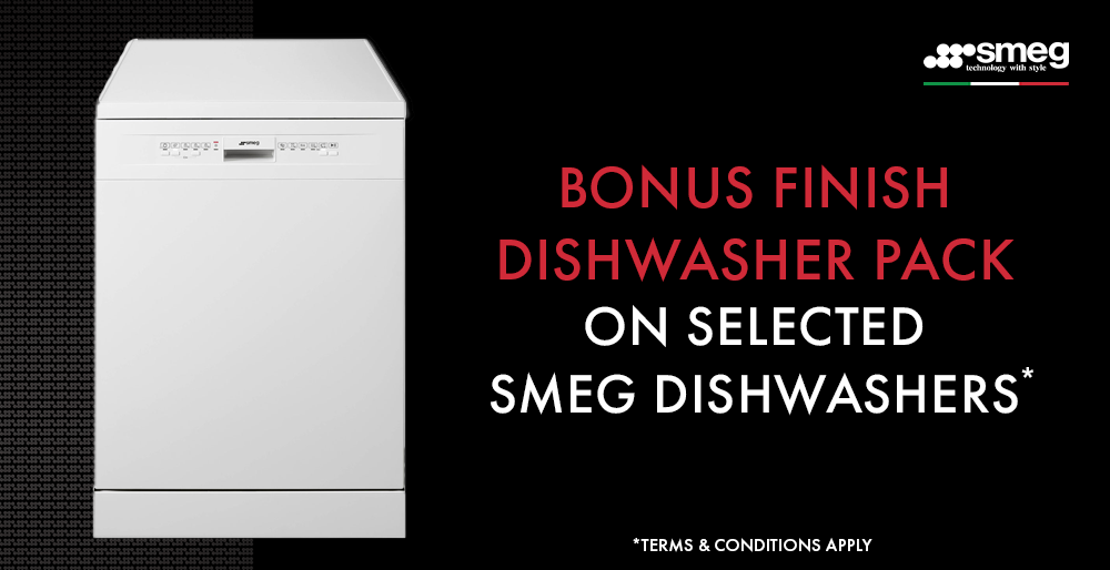 SMEG Dishwasher Bonus Promotion