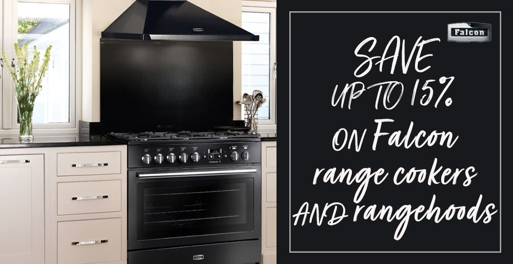 Falcon Save up to 15% off range cookers and rangehoods