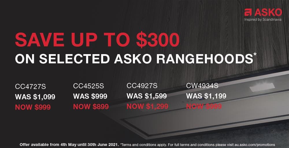 Save On Asko Rangehoods
